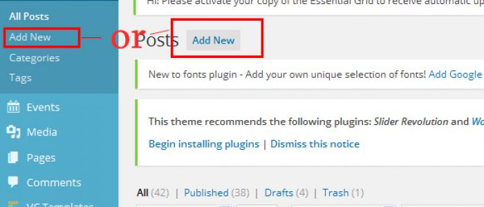 How to Add/Edit Post in WordPress 4.3